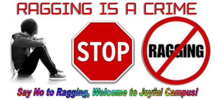 ragging is a crime